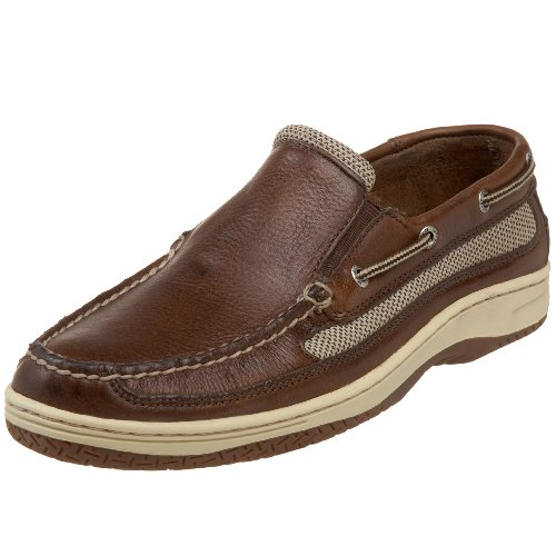 Sperry Top-Sider Men's Billfish Slip On Boat Shoe, Coffee, 11.5 M US
