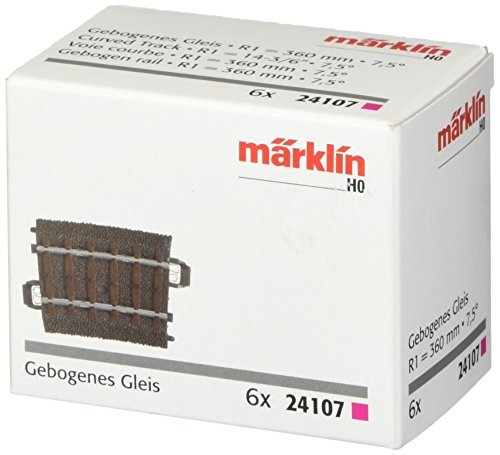 Marklin My World 7.5 Degree Curved C Track (6-Piece),, used for sale  Delivered anywhere in USA