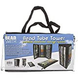 Bead Tube Tower (Holds Round Tubes) Black - BTW1