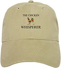 CafePress - The Chicken Whisperer - Baseball Cap ... a5d04be7e14b