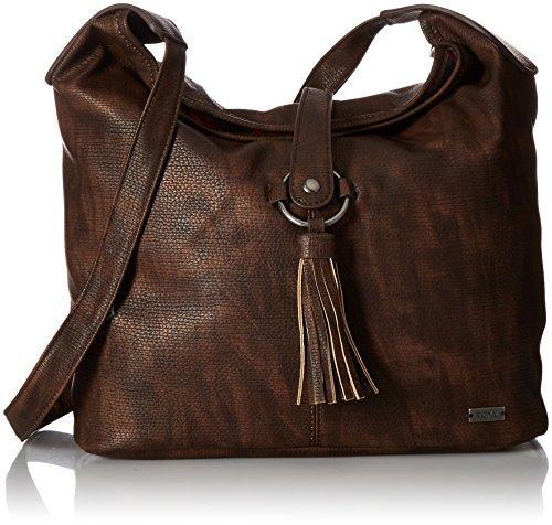 Roxy Latest Chill Shoulder Bag, Dark Brown