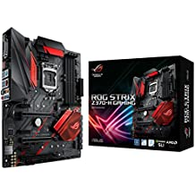 ASUS ROG STRIX Z370-H GAMING LGA1151 DDR4 HDMI DVI M.2 Z370 ATX Motherboard with Gigabit LAN and USB 3.1 for 8th Generation Intel Core Processors