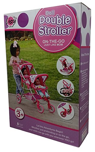 Double Baby Stroller For Dolls - 9