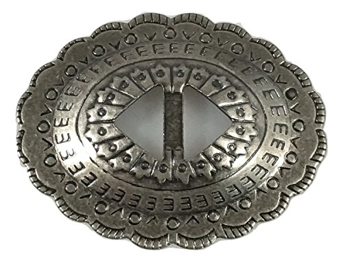 Conchos Mixed Finishes Western 1 1/4