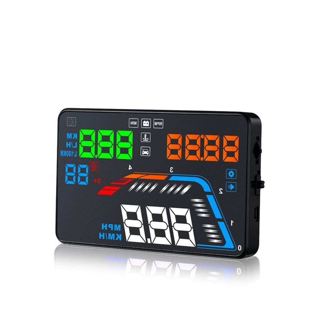 FDBF Q700 Universal OBD2 OBDII Car GPS HUD Head Up Display Sistema di Allarme di velocità eccessiva