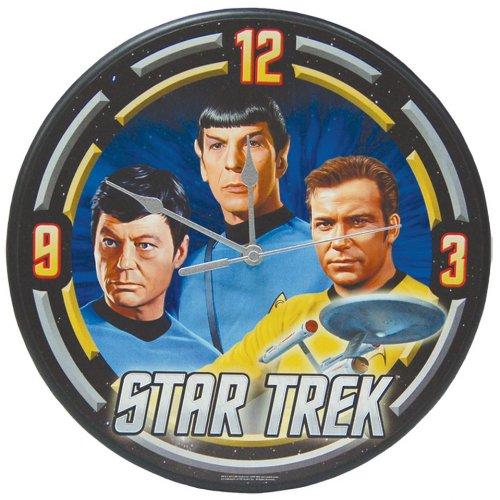 Westland Giftware Wall Clock, 12-Inch Diameter, Star Trek Star Fleet