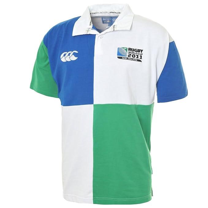 Harlequin Canterbury Rugby Polo de rayas: Amazon.es: Deportes y ...
