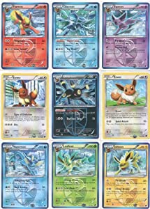 Amazon Com Team Plasma Eeveelutions Master Set 9 Pokemon