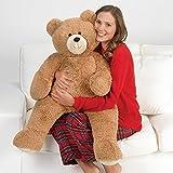 Vermont Teddy Bear - 3 Foot Big Teddy Bear, Plush Stuffed Animal, 3