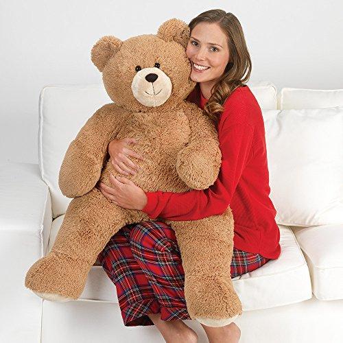 - Vermont Teddy Bear - 3 Foot Big Teddy Bear, Plush Stuffed Animal, 3 Feet Tall, Brown