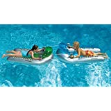 2-Piece Water Sport Inflatable Battle board Swimming Pool Squirt Set 53""