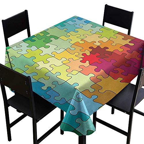 Abstract Square Tablecloth 50