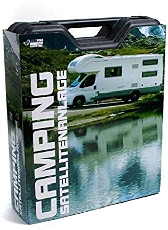 Camping satélite (Antena Parabólica Micro CS 35 HD Easy Find ...
