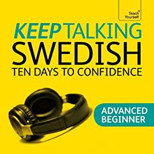 Keep Talking Swedish Audiobook