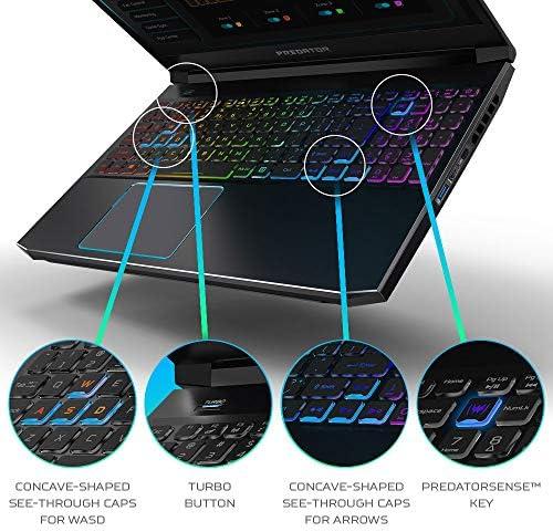 Acer Predator Helios 300 Gaming Laptop, Intel i7-10750H, NVIDIA GeForce RTX 2060 6GB, 15.6″ Full HD 144Hz 3ms IPS Display, 16GB Dual-Channel DDR4, 512GB NVMe SSD, WiFi 6, RGB Keyboard, PH315-53-72XD 51b7QQaaINL