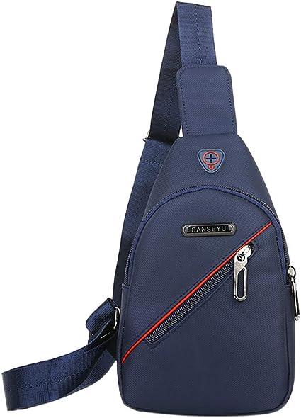 Unisex Messenger Bag Marble Shoulder Chest Cross Body Backpack Bag