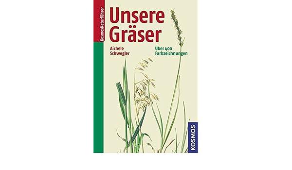 Unsere Gräser: Heinz W Schwegler Dietmar Aichele: 9783440125731 ...