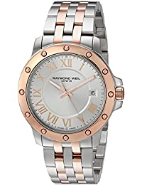 Raymond Weil Men's 'Tango' Swiss Quartz and Stainless Steel Casual Watch, Color:Two Tone (Model: 5599-SB5-00658)