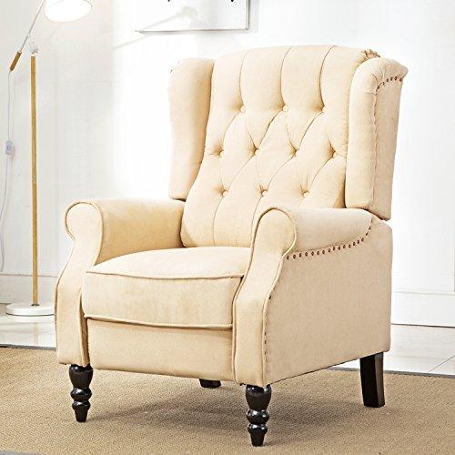 Queen Anne Wingback Chair - 5