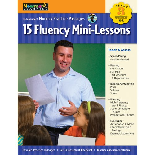 Fluency Mini-Lessons Grade 3 with Audio CD (Independent Fluency Practice Passages)