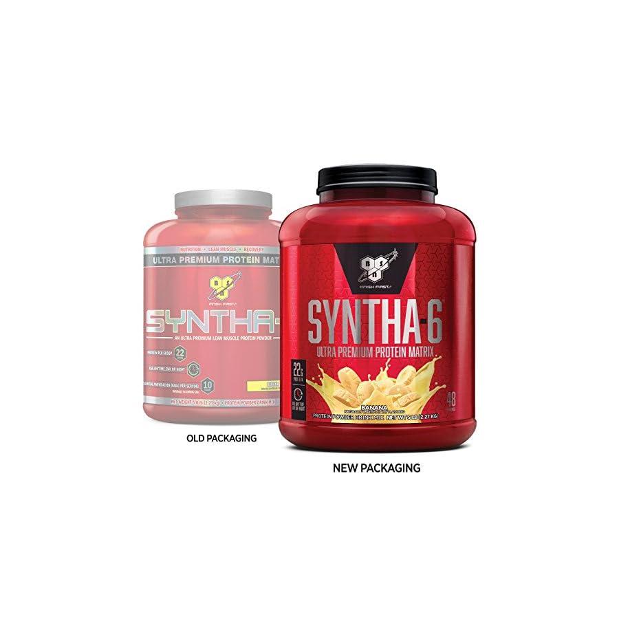 BSN SYNTHA 6 Whey Protein Powder, Micellar Casein, Milk Protein Isolate Powder