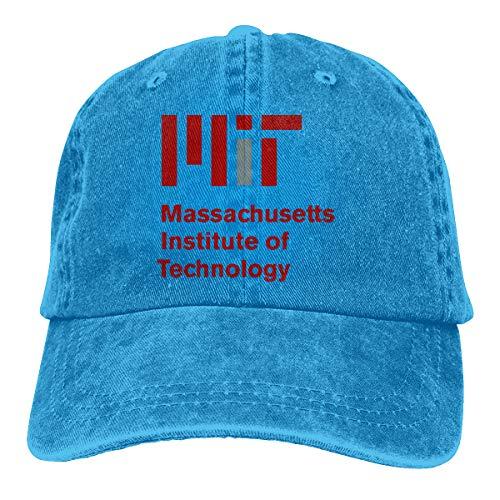 (SheilaCHENMontroy Man Womens Massachusetts Institute of Technology MIT-Logo Cap Blue )
