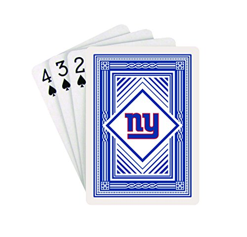 NFL NEW YORK GIANTS PLAYING CARDS (CLASSIC BACK, ONE DECK)