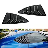 subaru brz grille - iJDMTOY Left/Right Matte Finish Racing Style Rear Side Window Vent/Louvers For 2013-up Scion FR-S Subaru BRZ and Toyota 86