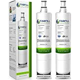 Fabfill 4396508 | 4396510 Refrigerator Water Filter Premium Replacement For Whirlpool, Maytag, Kitchenaid Refrigerators | Filters For Kenmore 46-9010, EveryDrop Filter 5, NLC240V, EDR5RXD1 (2 Pack)