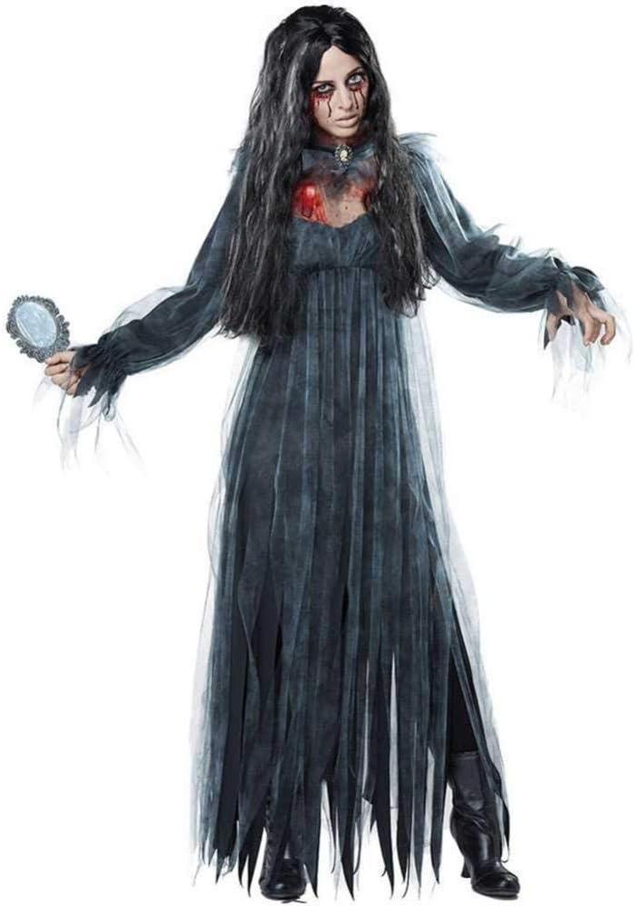 GWNJSSX Disfraz De Novia De Zombie Mortal De Halloween para Mujer ...