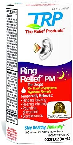 Ring Reduction PM Ear Drops for Ringing in The Ears and Tinnitus Signs
