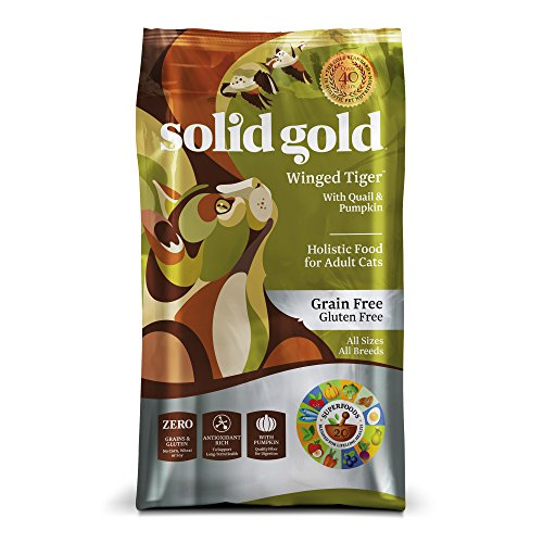 Solid Gold Winged Tiger Grain