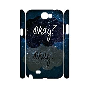 C-EUR Okay Okay Customized Hard 3D Case For Samsung Galaxy Note 2 N7100