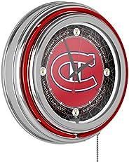 Trademark Global NHL Team Neon Clock, 14-Inch Diameter