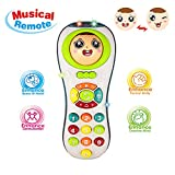 Remote Toys 2 Year Olds Boy Baby, Educational Learning Toys 1-4 Year Old Baby Girl Boys Remote Toy...