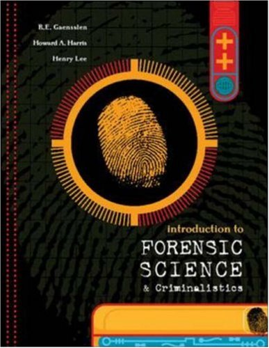 Intro.To Forensic Science+Crimialistics