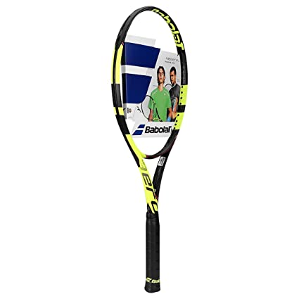"Babolat Pure Aero Tour Yellow/Black Tennis Racquet (4 1/2"" Inch"