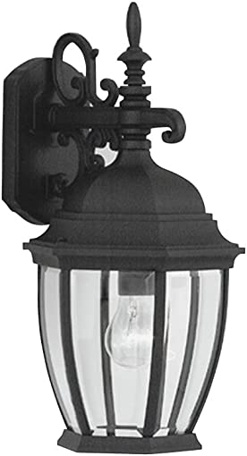 Designers Fountain 2431-BK Tiverton Wall Lanterns, Black