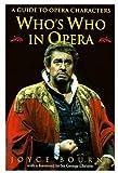 Who's Who in Opera, Joyce Bourne, 0192100238