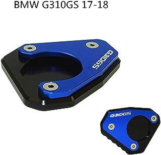 H2Racing CNC Billet Kickstand Side Stand Enlarge for Yamaha MT-09 2013-2018,FZ-09 2013-2017,MT-09 Tracer