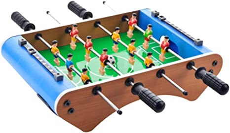 Xinhuamei Tabletop Foosball Table- Mini Juego de Futbol/futbolín portátil con Dos Bolas y Marcador de puntuación para Adultos y niños: Amazon.es: Deportes y aire libre
