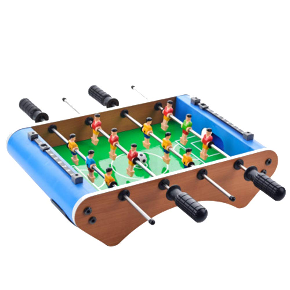 Tabletop Foosball Table- Portable Mini Table Football/Soccer Game Set with Two Balls and Score Keeper for Adults and Kids