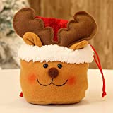 Clearance Tuscom Christmas Candy Party Gift Bag,for Chocolates, Candies,Biscuits15 X 18cm Storage Packing Wrapper Supplies (B)