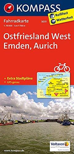 ostfriesland-west-emden-aurich-fahrradkarte-gps-genau-1-70000-kompass-fahrradkarten-deutschland-band-3031