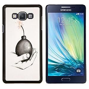 Dragon Case - FOR Samsung Galaxy A7 - I am with you - Caja protectora de pl??stico duro de la cubierta Dise?¡Ào Slim Fit