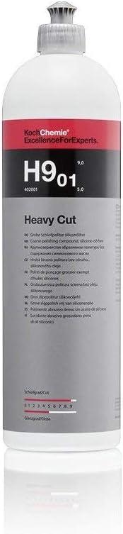Koch Chemie H9 01 Heavy Cut Coarse Abrasive Polish Silicone Oil Free 1 Litre Auto
