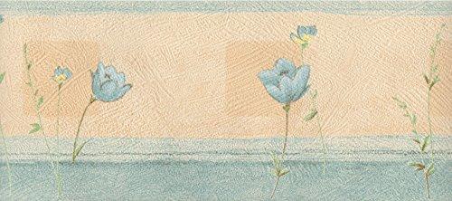 Bordüren Marburg Beige mit Blumen 62226