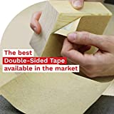 XFasten Double Sided Tape, Removable, 1.5-Inch by