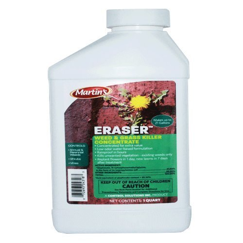 APS Glyphosate 41% Weed Killer Herbicide Conc 32 Oz Eraser Weed Killer Herbicide Not for Sale to: California