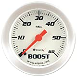 """Equus 8256 2"""" Boost Gauge with Multi Color Back"""